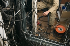 technician working